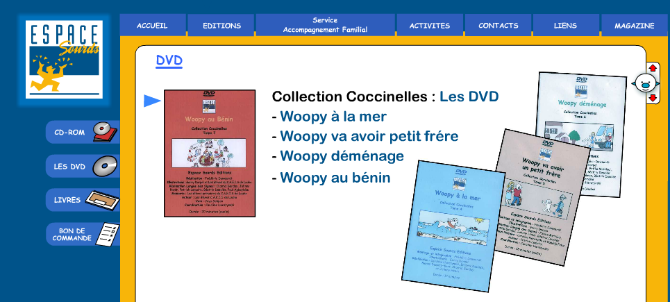 dvd ducatifs pour enfant et adulte