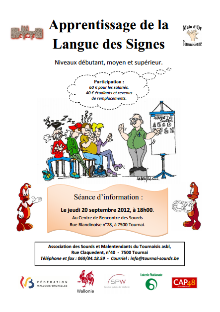 Rencontres sourds entendants