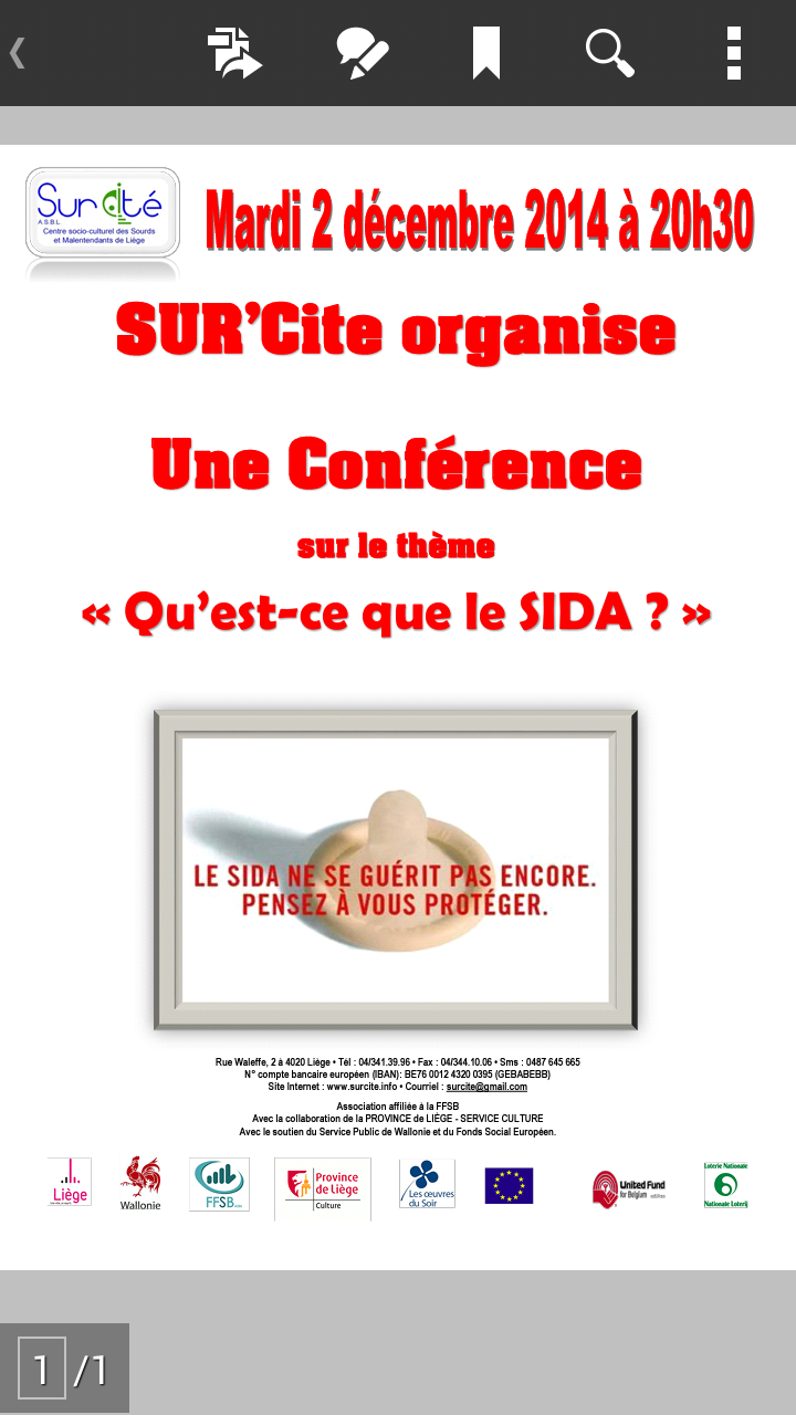 Sur Cite Conference Quest Ce Que Le Sida Ffsb Sourds